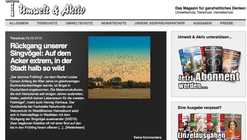 """""""Umwelt & Aktiv"""": Traum vom nationalen Dorf mit gleichgesinnten """"Sippen"""""""