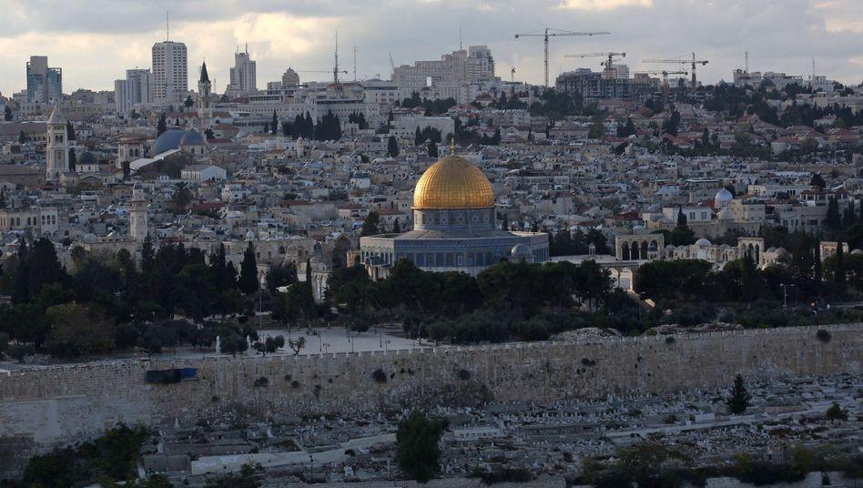 Tempelberg in Jerusalem