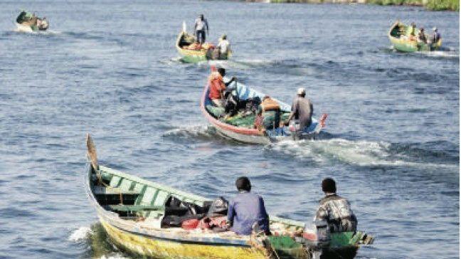 Fischer auf dem Victoriasee