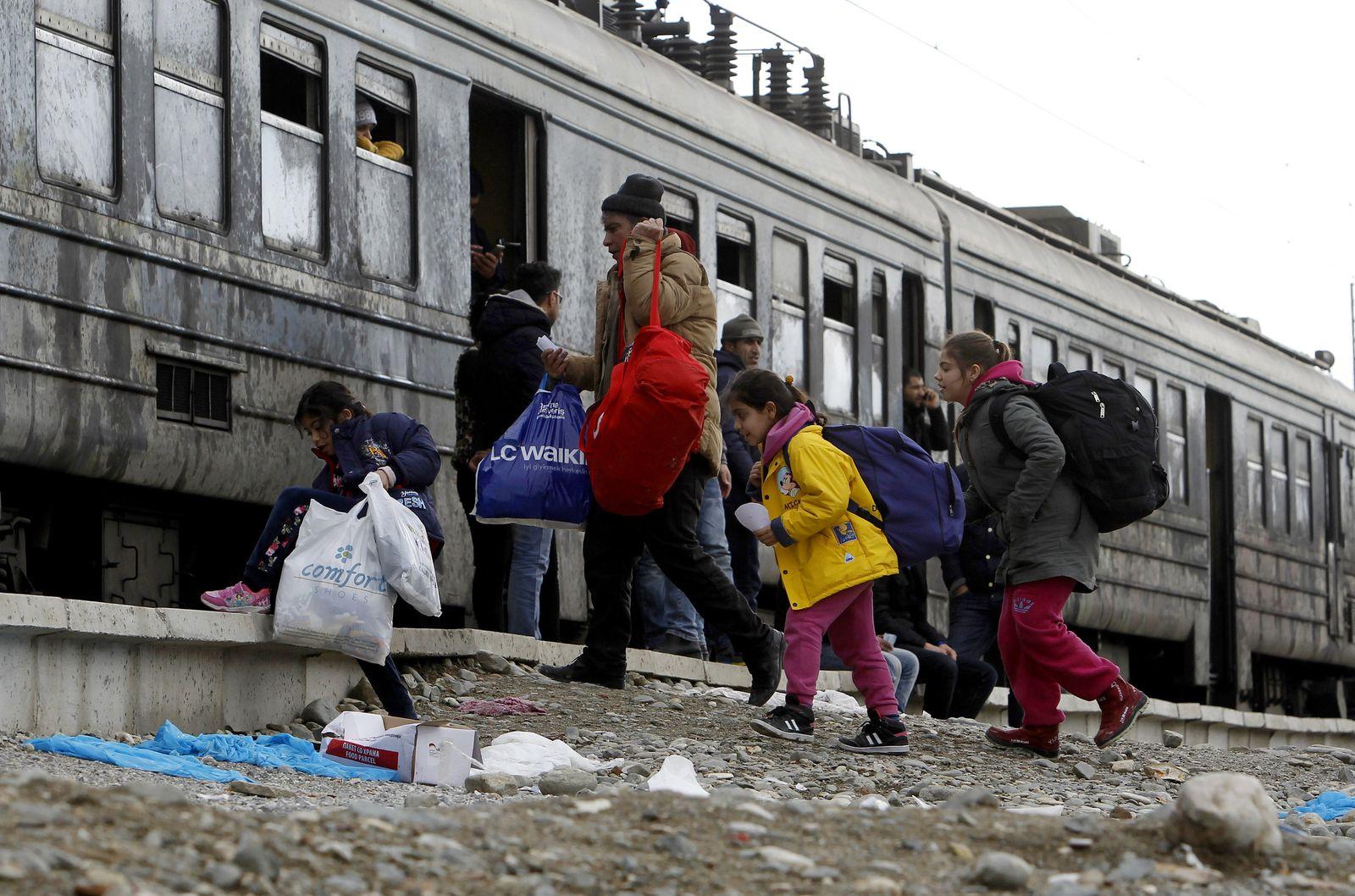 Macedonia Migrants
