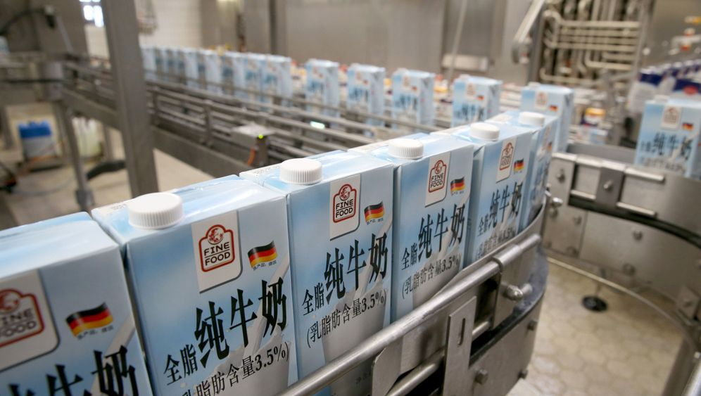 Export nach China: Milch als Luxusgut