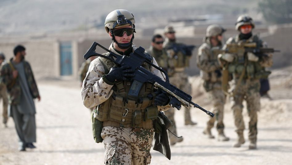 Bundeswehrsoldat in Afghanistan (Archivbild): Vier Stunden Kampf