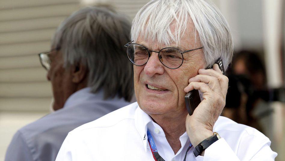 """Formel-1-Boss Ecclestone: """"Gerne bereit"""" zur Aussage"""