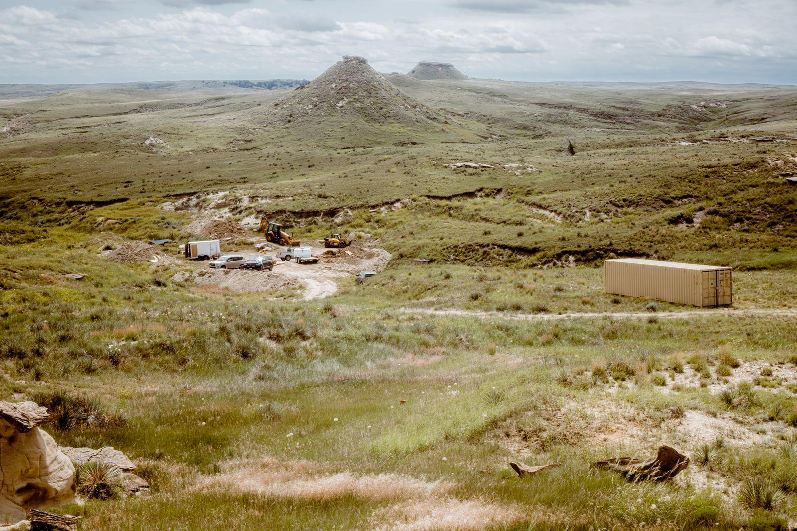 Grabung Wyoming