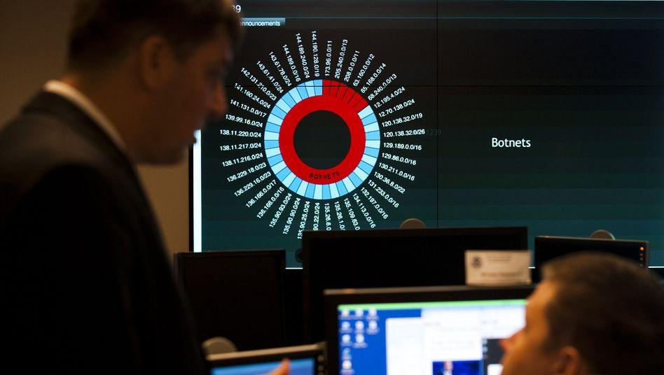 US-Cyberabwehrzentrum NCCIC: Virtuelle Attacken mit Bomben bekämpfen