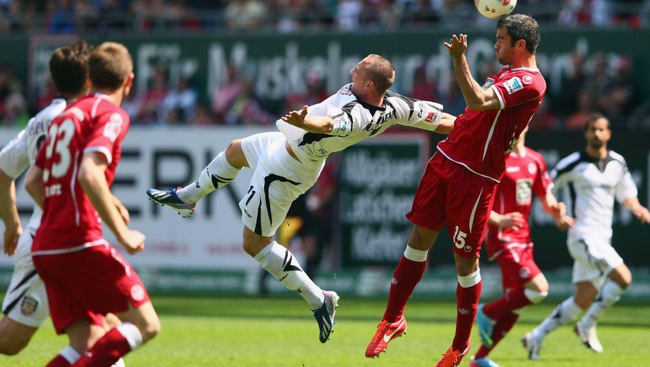 Lautern-Profi Torrejón (r.): Torschütze gegen Frankfurt