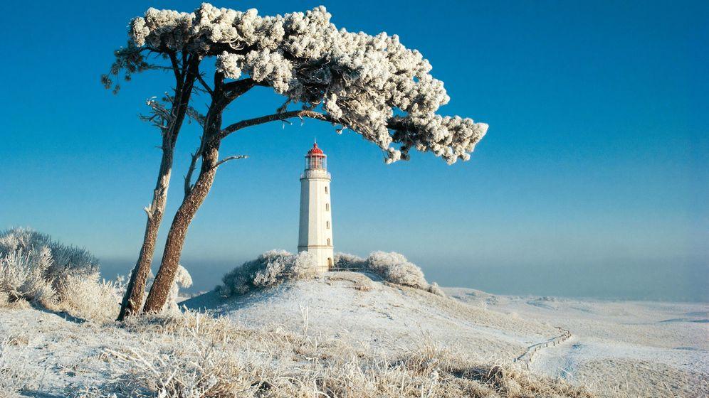 Hiddensee: Winterstille auf der Insel