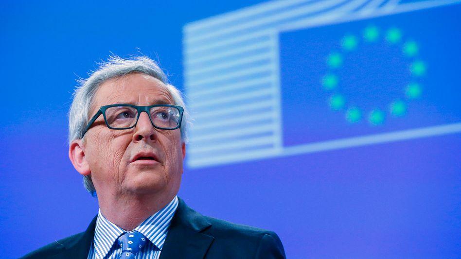 """EU-Kommissionspräsident Juncker: """"Wer Schengen killt, wird im Endeffekt den Binnenmarkt zu Grabe tragen"""""""