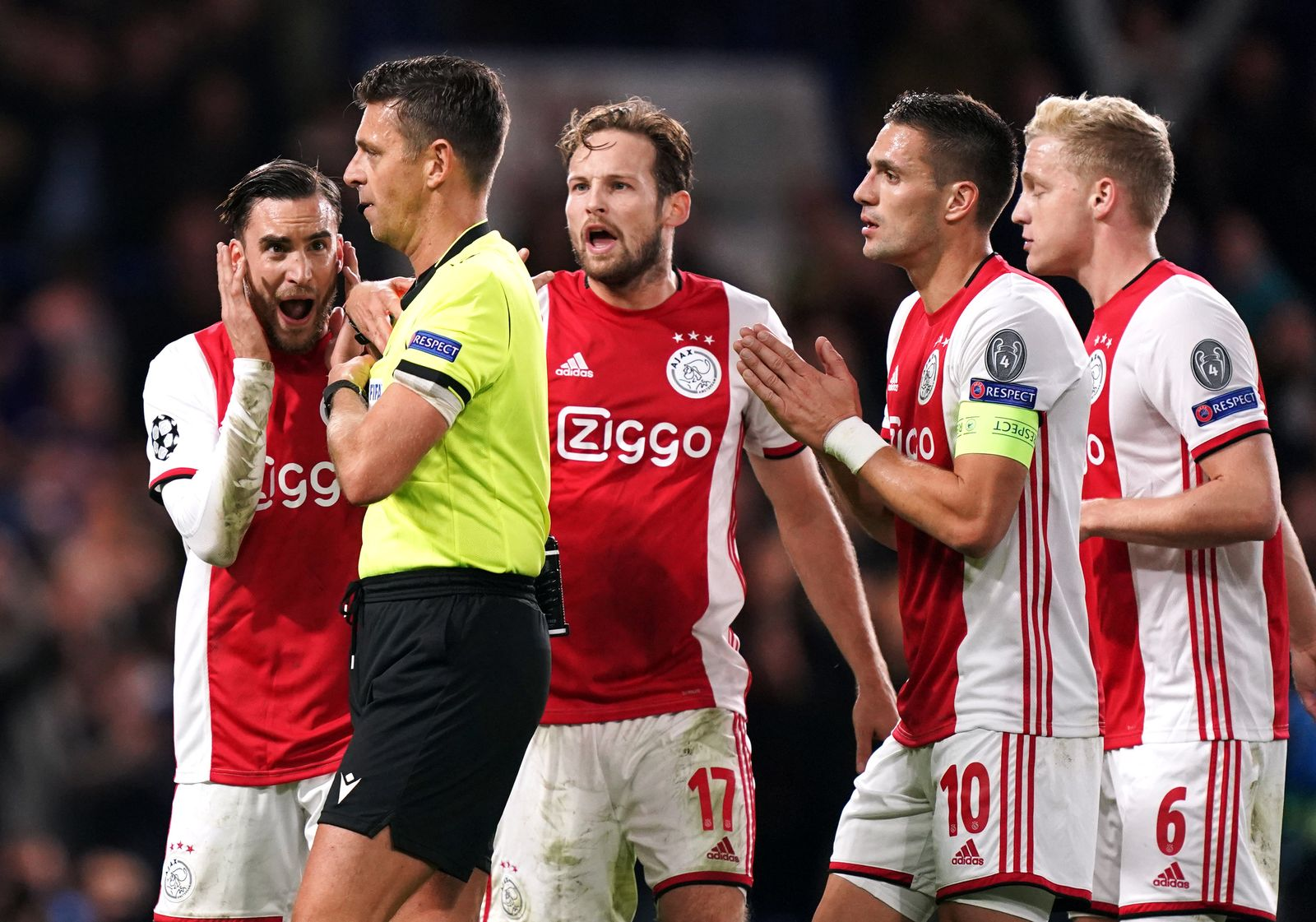 Chelsea v Ajax Roccho