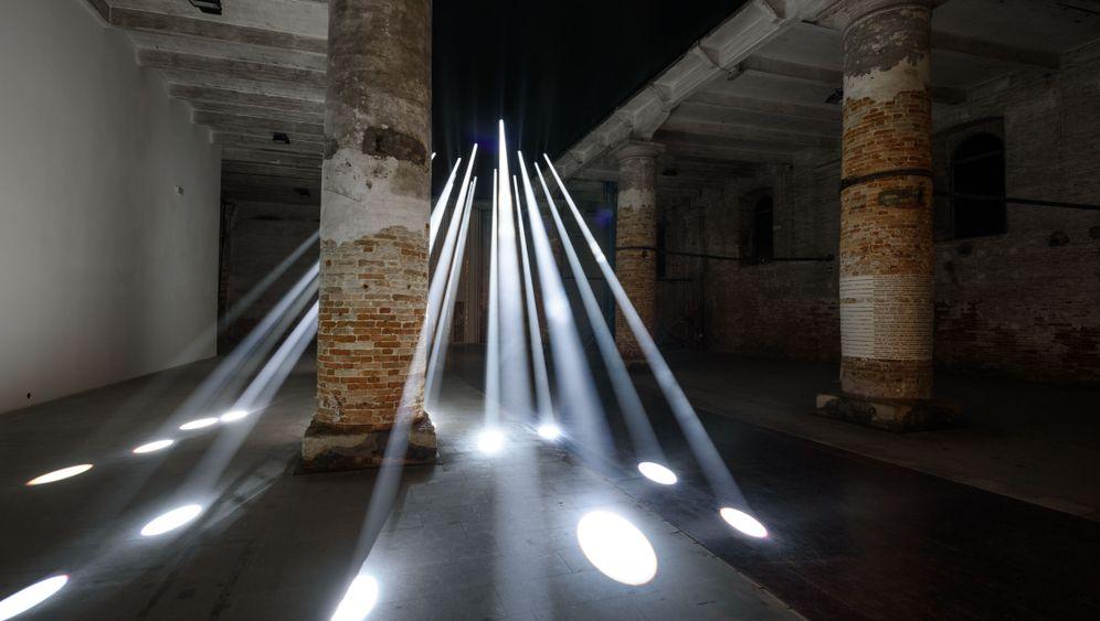 Fotostrecke: Aufbauarbeit in Venedig