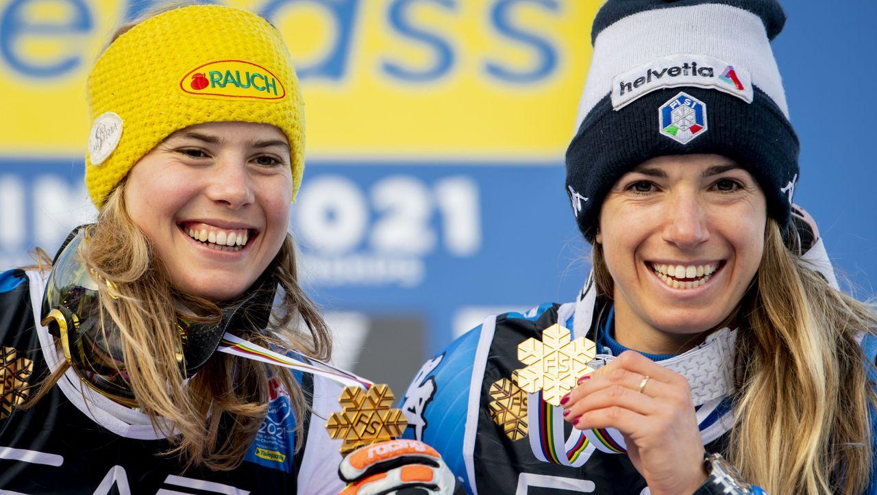 Chaos bei Ski-WM: Nachträgliches Doppelgold in »katastrophalem« Wettbewerb - DER SPIEGEL