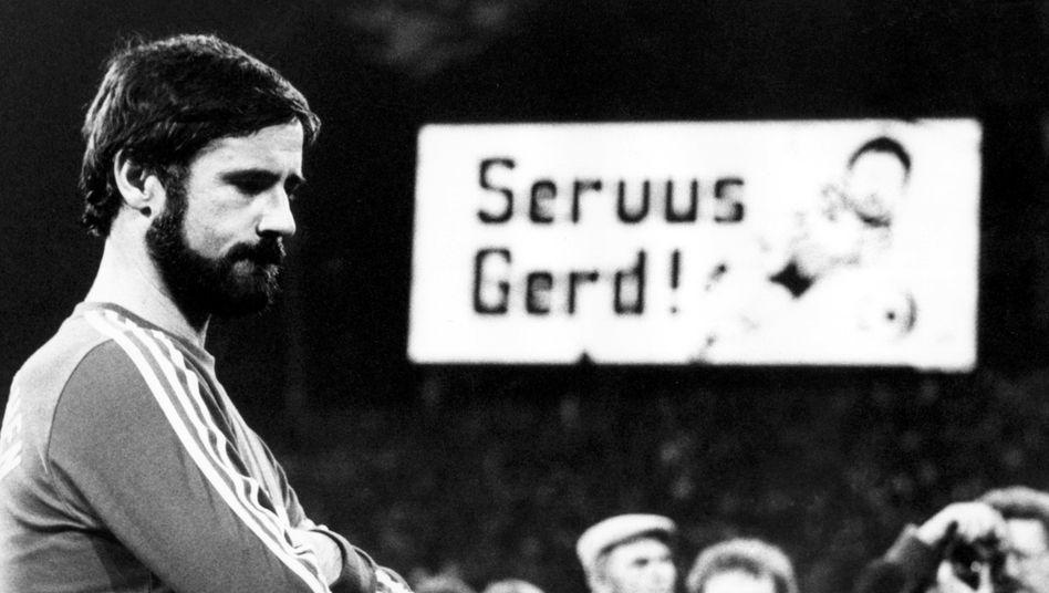 Fußball-Legende Gerd Müller
