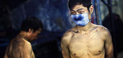 Jeans-Hersteller in Zhongshan, China: Schuften für den Used-Look