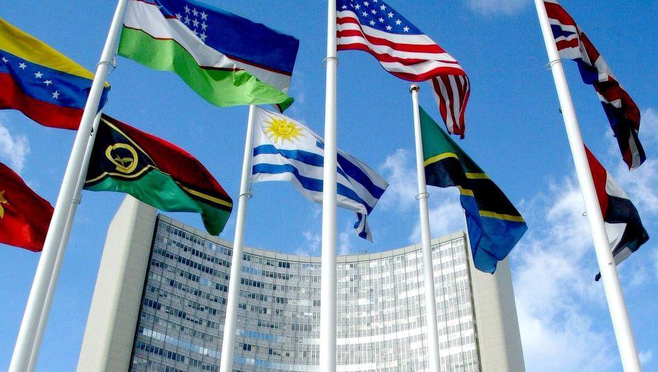 Zentrale der IAEA in Wien: Daten von altem Server entwendet