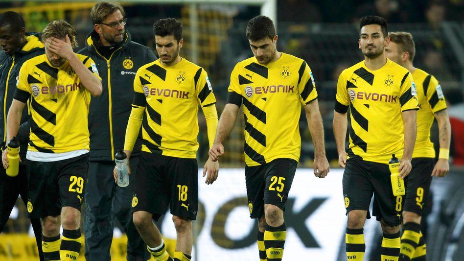 Dortmunds Spieler: Kopflos in die Krise