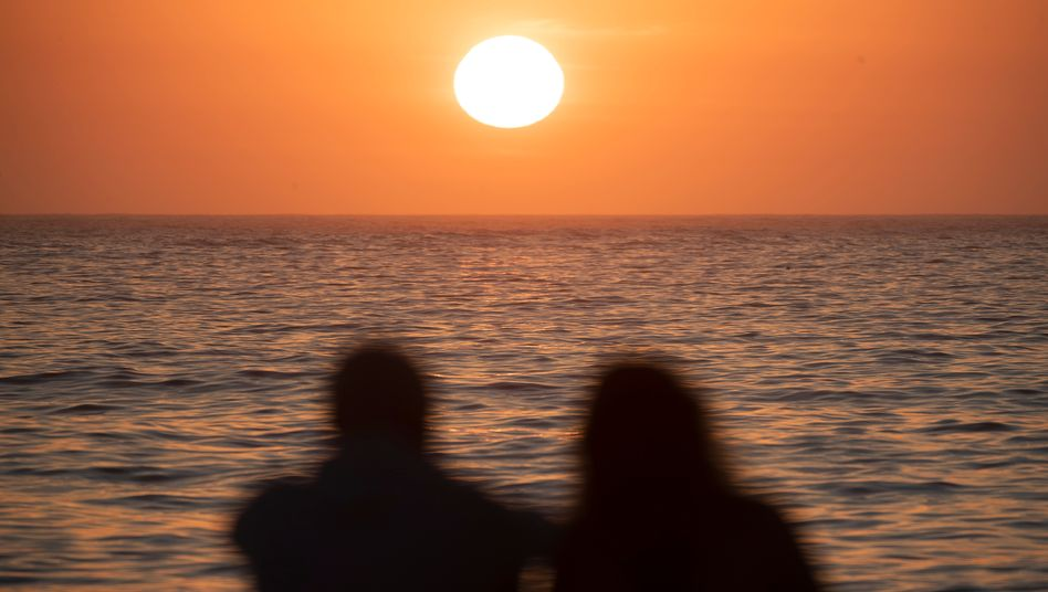 Sonne am Strand von Bondi Beach: Der Sommer auf der Südhalbkugel beginnt zeitgleich mit dem Winter im Norden