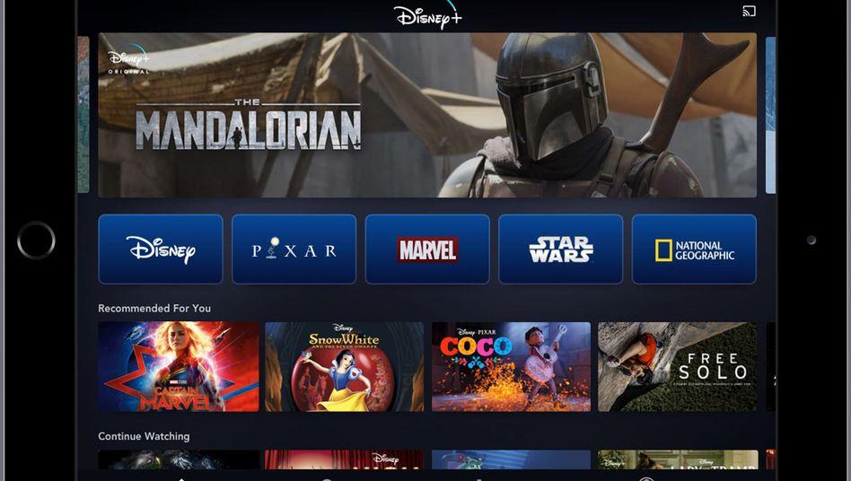 Werbebild zu Disney+