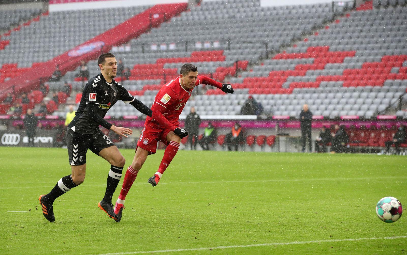 FC Bayern Muenchen v Sport-Club Freiburg, Munich, Germany - 17 Jan 2021