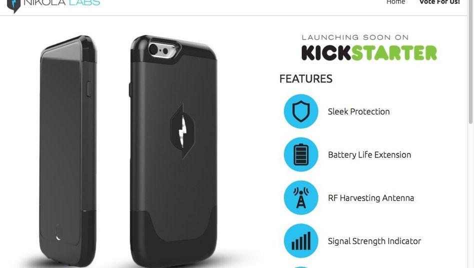 iPhone-Case von Nikola Labs: Mehr Laufzeit durch Energie-Recycling?
