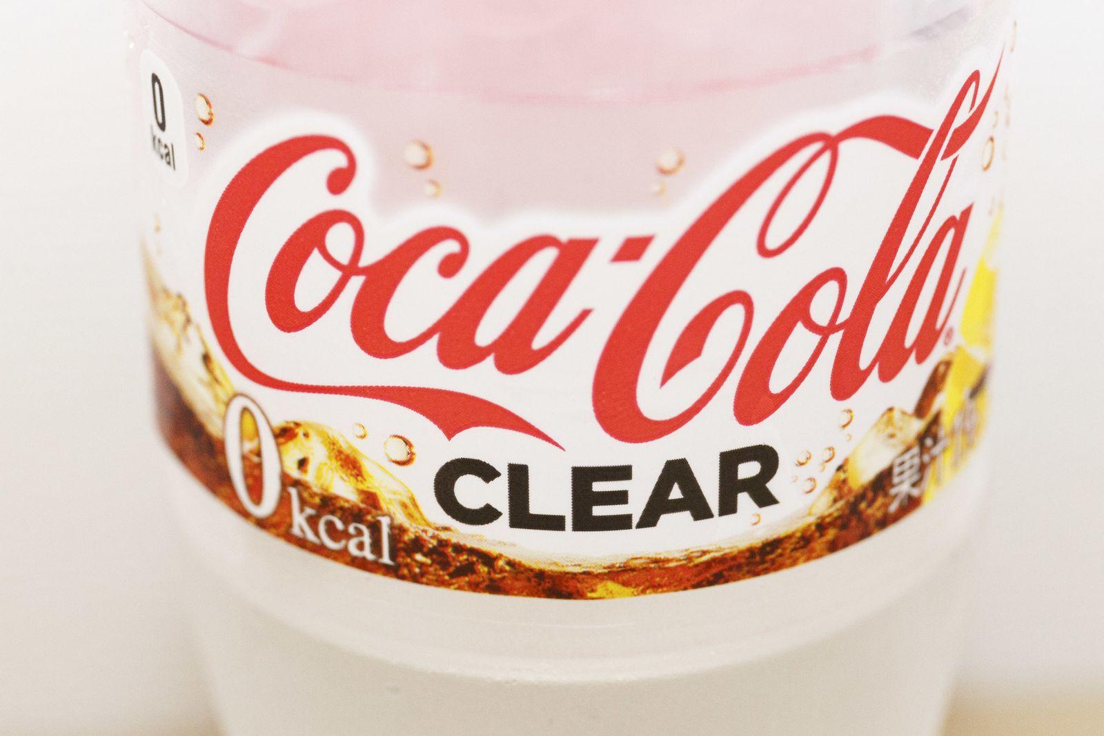 Coca-Cola Clear: Verkaufsstart von durchsichtiger Cola in Japan