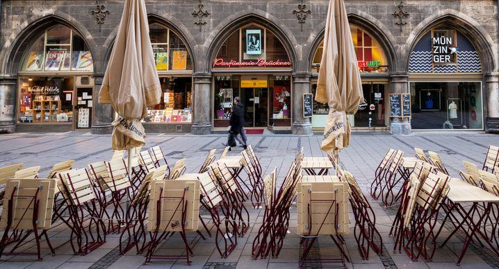 Geschlossenes Restaurant in München