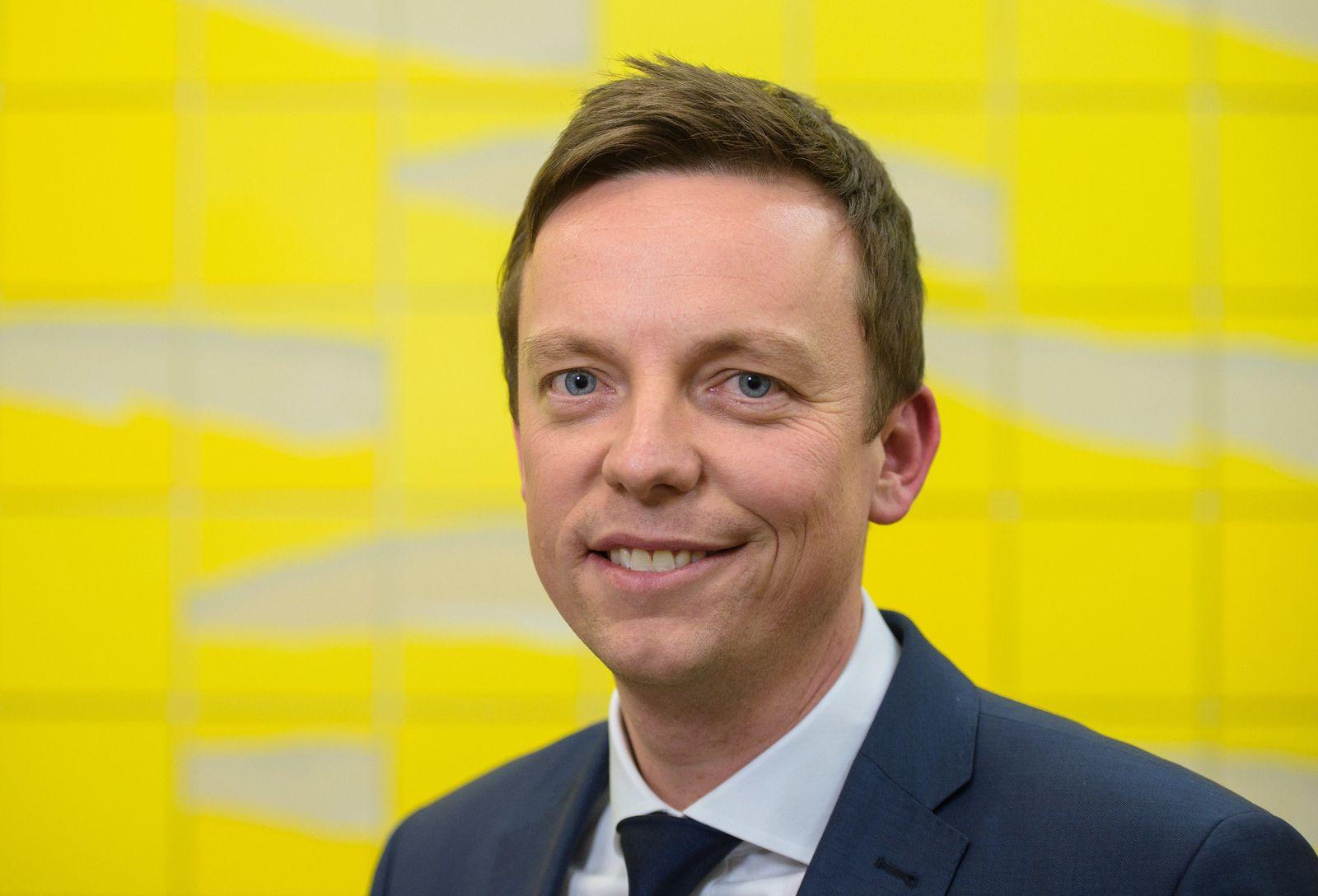 Junge CDU-Politiker/ Hans