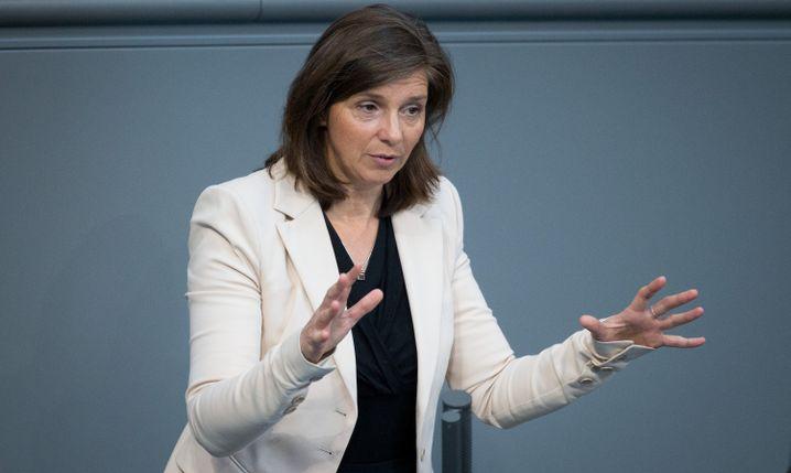 """Grünen-Fraktionschefin Katrin Göring-Eckardt: """"Vermitteln, was unser Grundgesetz ausmacht"""""""