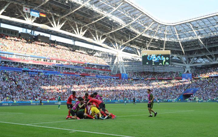 Südkorea bejubelt das 2:0