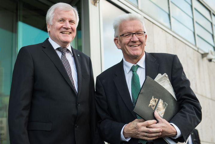 Horst Seehofer und Winfried Kretschmann