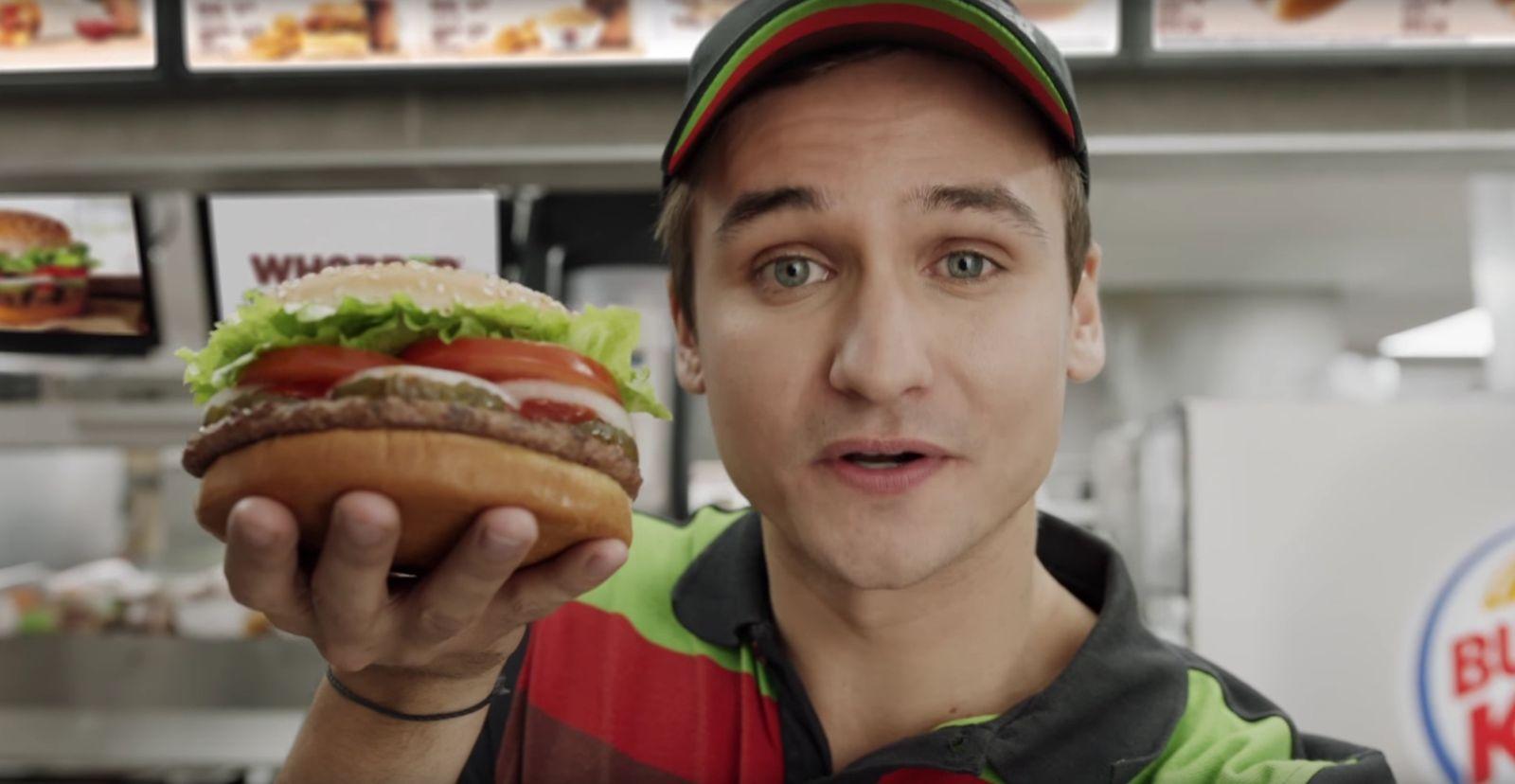 NUR ALS ZITAT Screenshot Burger King