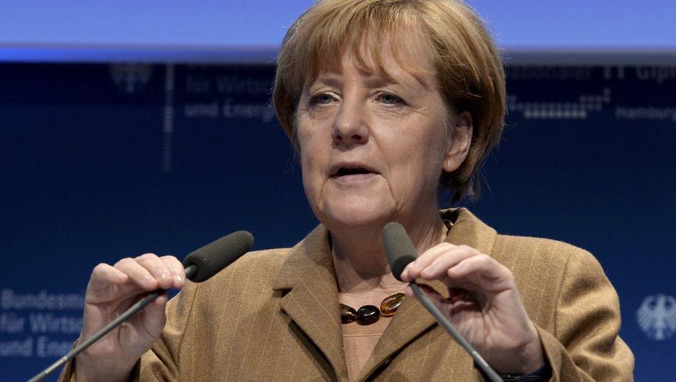 """Kanzlerin Merkel beim IT-Gipfel: """"Das war was ganz einfaches!"""""""