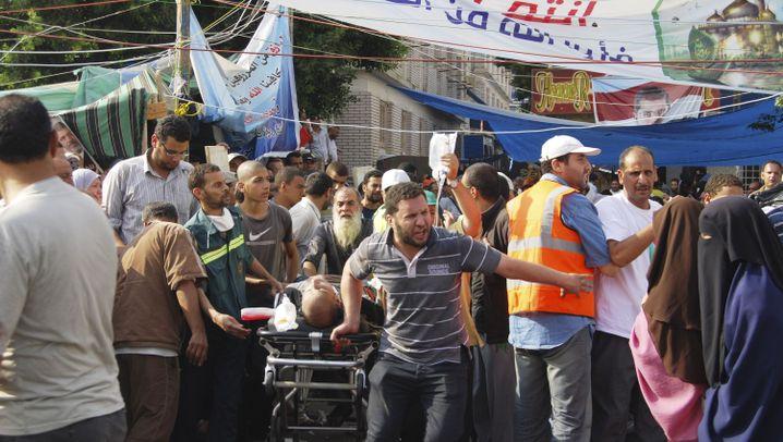 Machtkampf: Krawalle in Ägypten