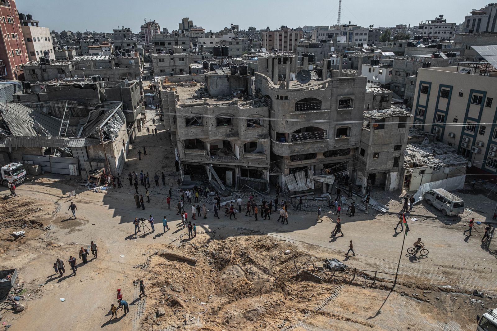 *** BESTPIX *** Civilian Casualties Rise As Israel-Gaza Violence Continues