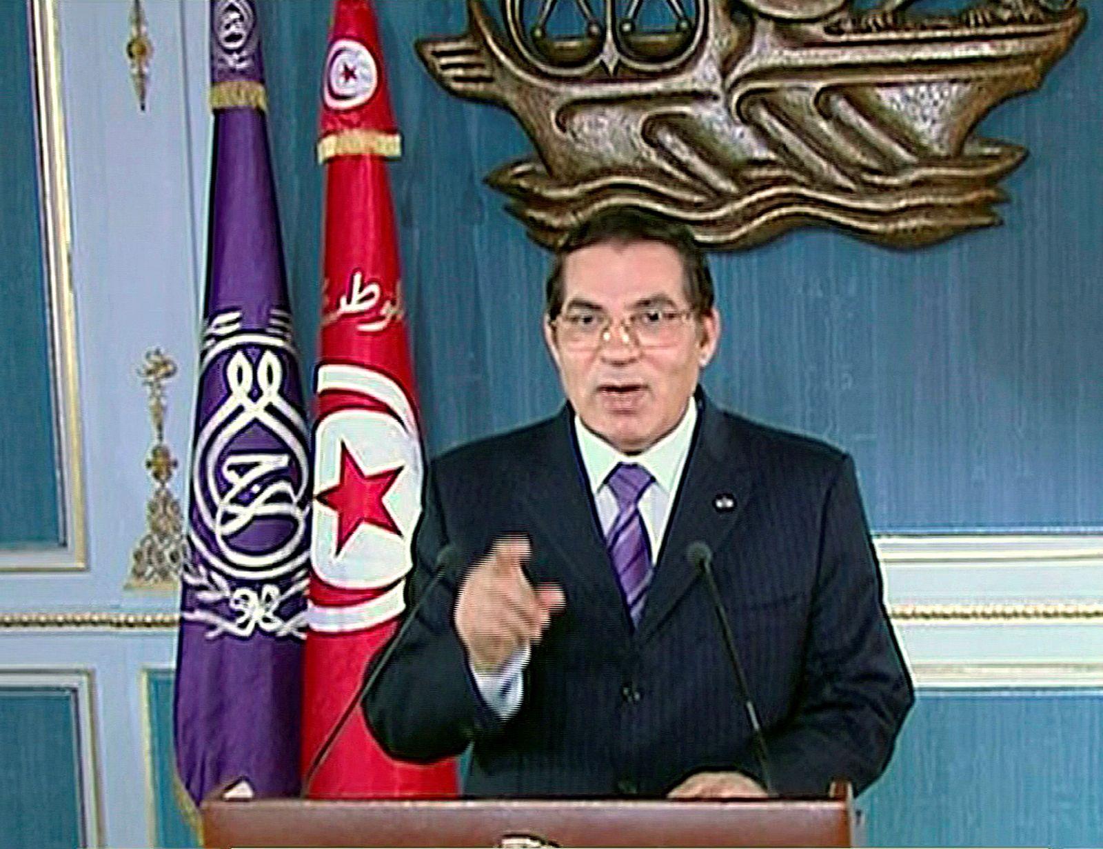 Zine al-Abidine Ben Ali/ Tunesien/ 2011