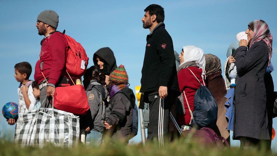 Flüchtlinge in Bayern: Mehr als 2900 Neuankömmlinge pro Tag