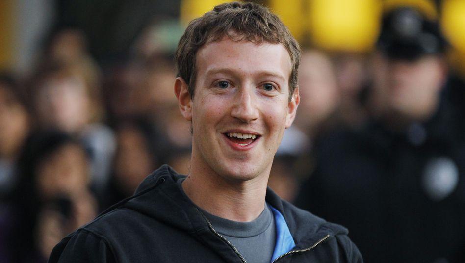 Mark Zuckerberg: Aktion vorher angekündigt