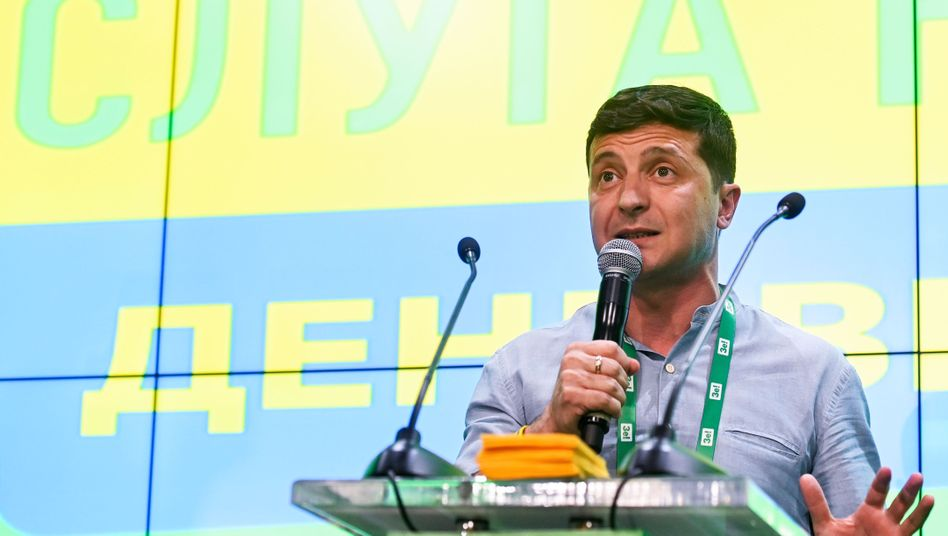 Wolodymyr Selenskyj: Korruptionsbekämpfer mit reichem Freund