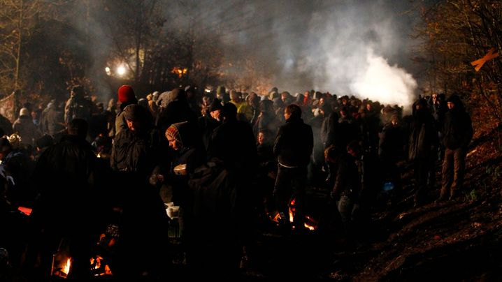Castor-Blockaden: Tränengas und Seifenblasen