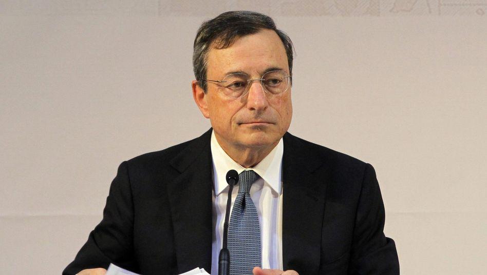 EZB-Chef Draghi: Die Kritiker im Nacken