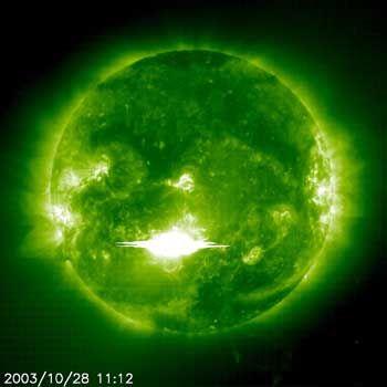 Sonneneruption: Der Sturm klingt wie ein Düsenjet