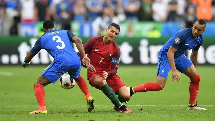 EM-Finale: Die großen Emotionen des Cristiano Ronaldo
