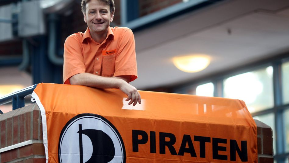 Piratenpartei-Bundesvorstand Jens Seipenbusch: Wiederwahl nach Dauersitzung