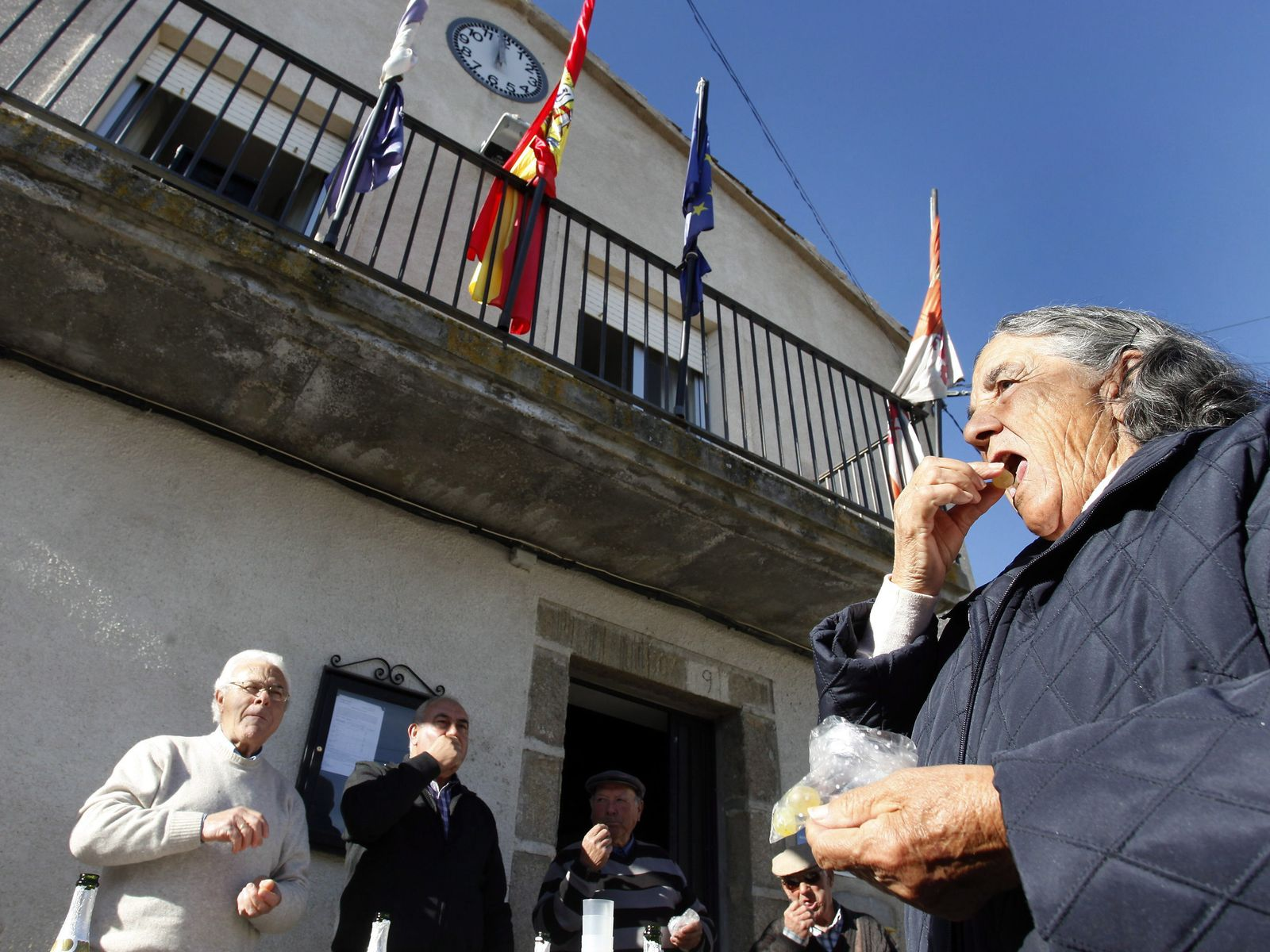Villar de Corneja/ Neues Jahr