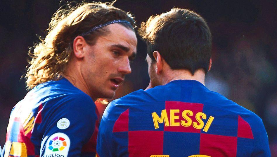 Antoine Griezmann und Lionel Messi: Ein schwieriges Verhältnis