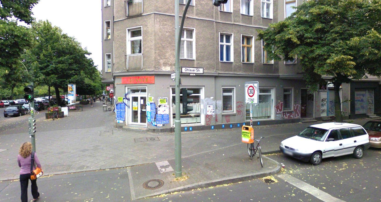 Google Street View/ Berlin Kreuzberg/ Kita Jungle
