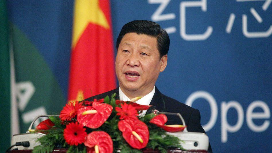 Chinas Machthaber Xi Jinping