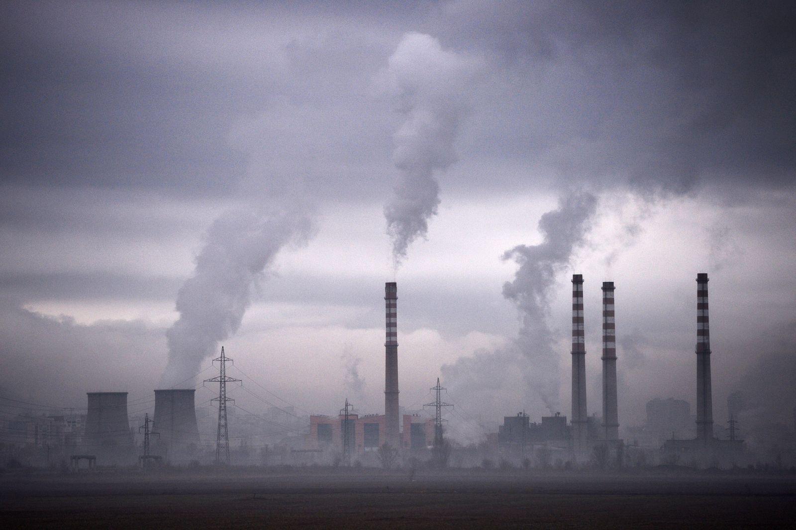 Luftverschmutzun Europa/ Sofia