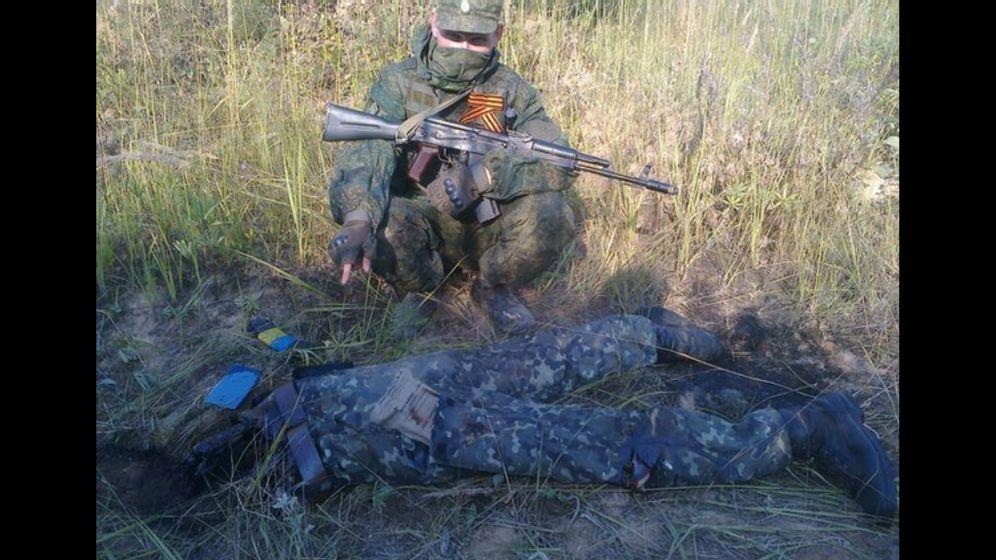 """Teenager-Soldaten in der Ukraine: """"Oft rieche ich Blut und verglühtes Metall"""""""