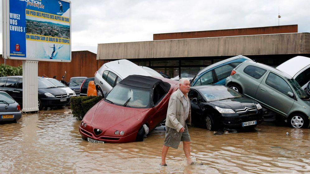 Südfrankreich: Land unter nach schweren Regenfällen