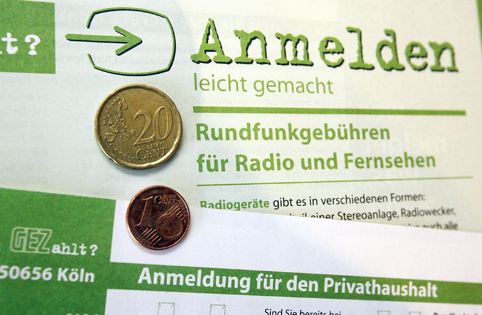 Gebührenklage von ARD, ZDF und Deutschlandfunk
